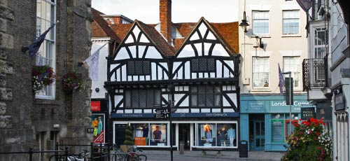 historic centre of Salisbury